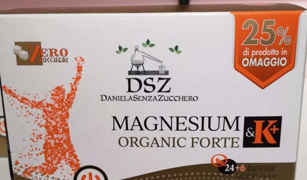 Magnesium & K + Organic Forte - Cpr