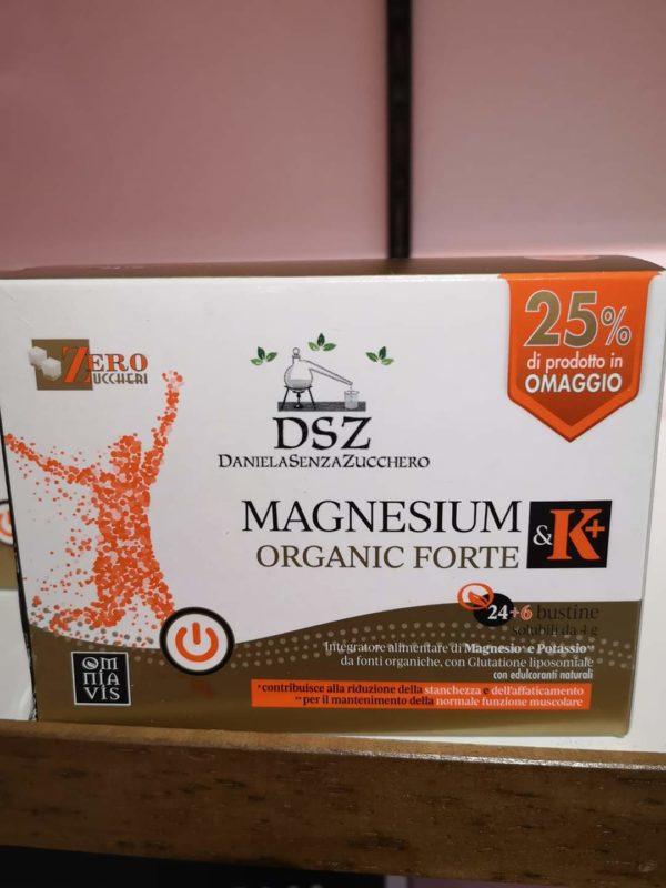 Magnesium & K + Organic Forte – Cpr