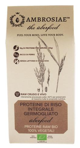 Proteine di Riso Integrale Germogliato AMBROSIAE
