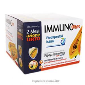 IMMUNORAC bustine* - Specifico per il sistema immunitario 2 mesi