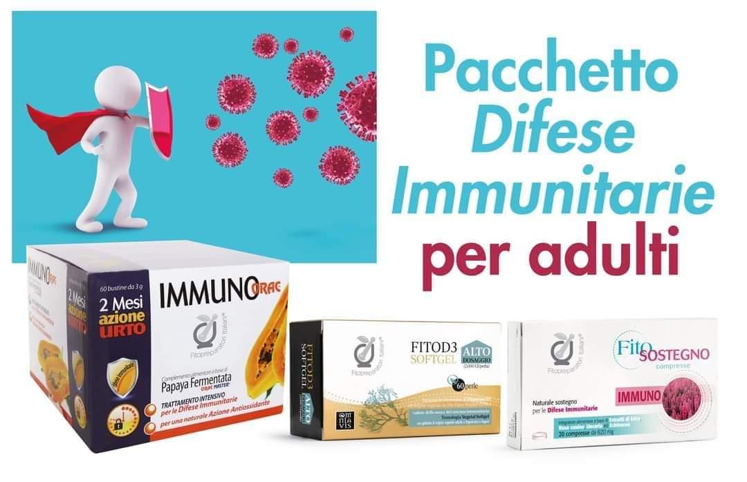 Pacchetto Difese Immunitarie per Adulti